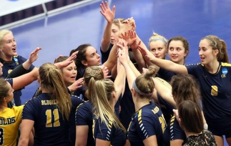 Blugolds volleyball left the 2018 season as WIAC conference championships and competitors in the NCAA tournament final four.