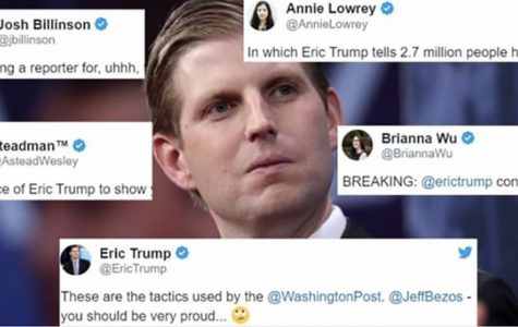 Eric Trump fuels the fire in a war against journalism