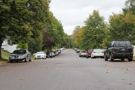 Cars will not be able to park this way overnight much longer with the new law going into effect Nov. 1.