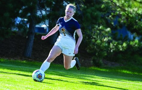 The women's soccer team won 2-1 against the La Crosse Eagles on Saturday