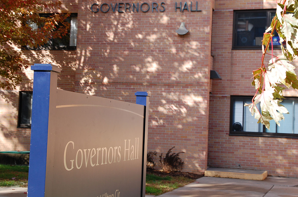 UW-Eau Claire's Governors Hall built in the 1960s is set to be remodeled in 2020-21.