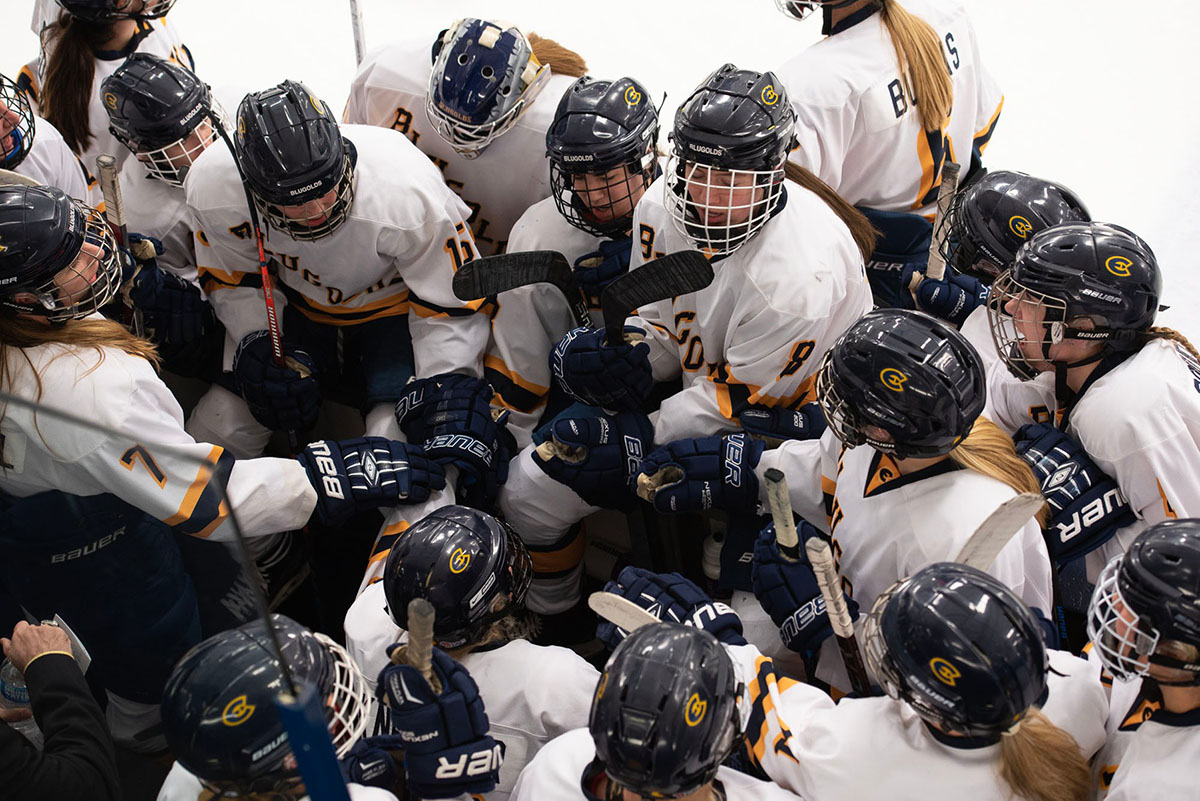 Last season, the Blugolds lost to the University of St. Thomas 4-3 in the NCAA quarterfinals.