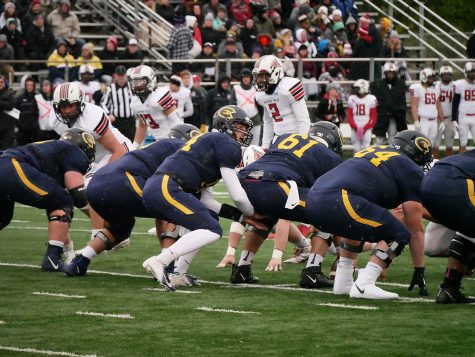 The Blugolds' three-game winning streak comes to an end