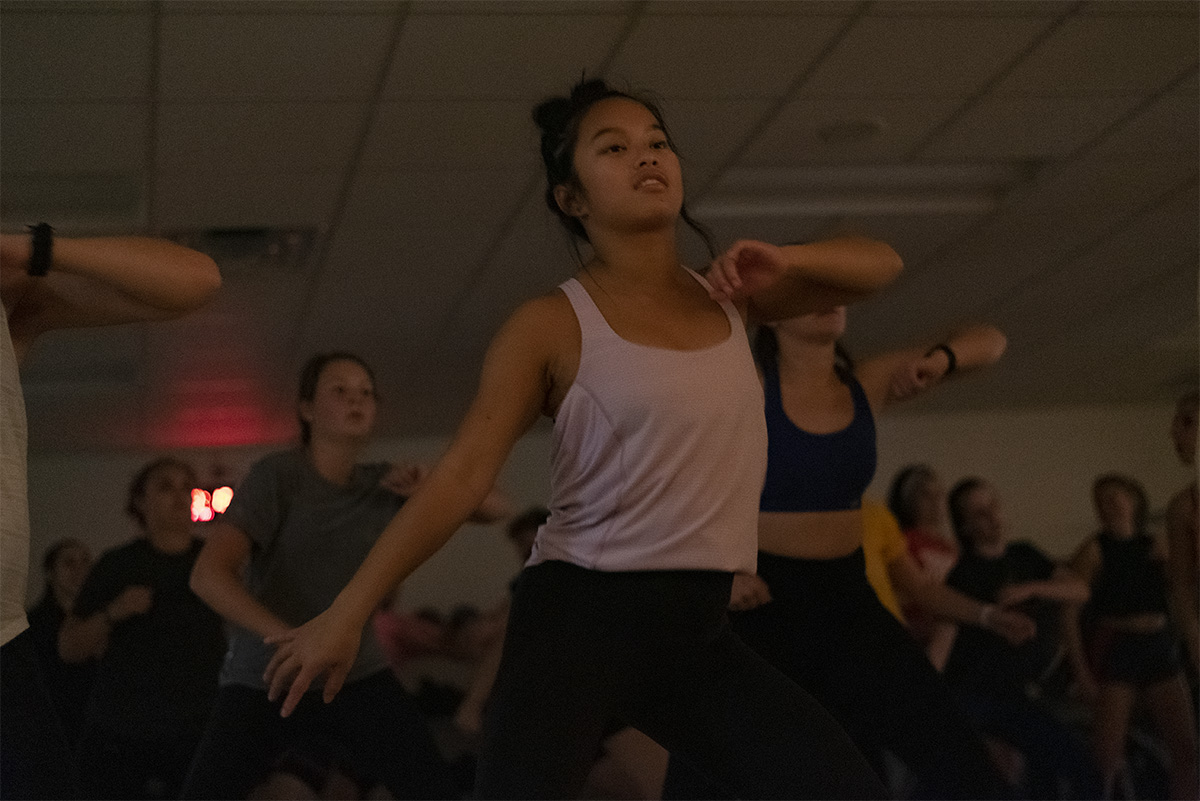 UW- Eau Claire offers free Zumba classes to students on Tuesdays and Thursdays.