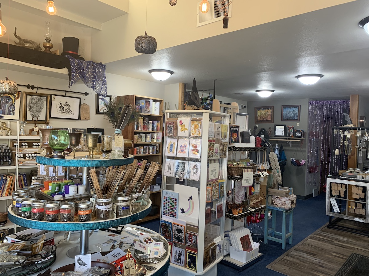 The Broom and Crow, a pagan and new age shop located downtown, offers products for any seasoned witch or aspiring crystal healer that you can't find anywhere else in Eau Claire.