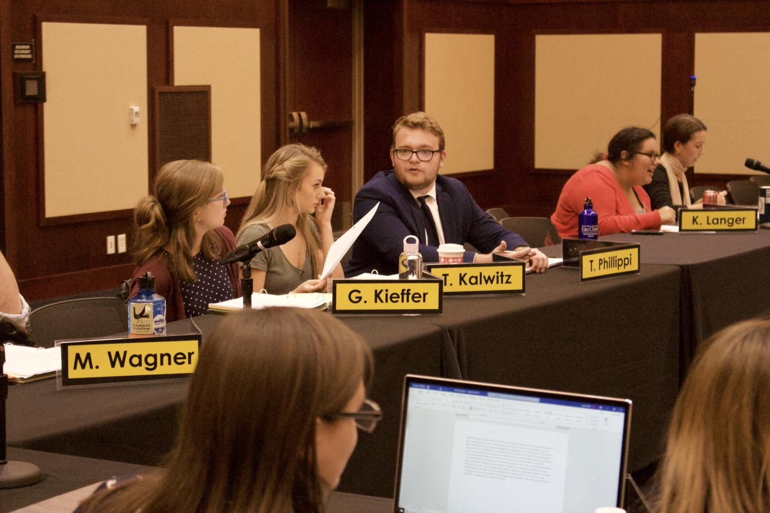 Student Senate passed three resolutions on Monday night: a resolution to support Indigenous People's Day, a resolution to support National Coming Out Day and a resolution to support October as National Disability Employment Awareness month.