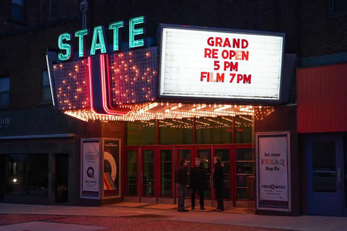 The State Theater and Community Center held its grand re-opening on October 11.