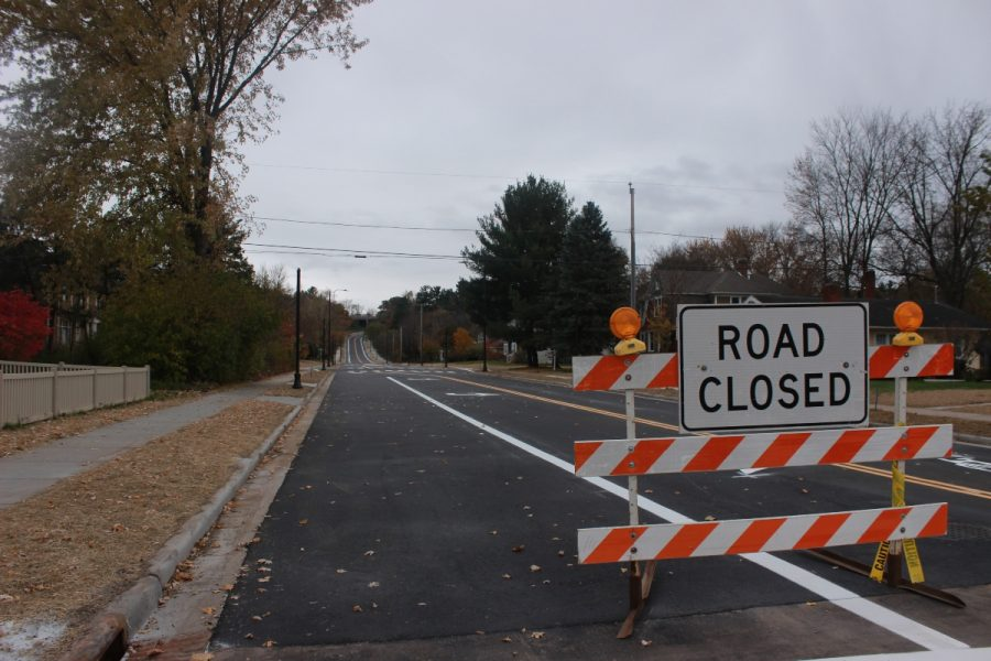 The construction on State Street, which has been in progress since June, was completed on Oct. 29, two days ahead of schedule.