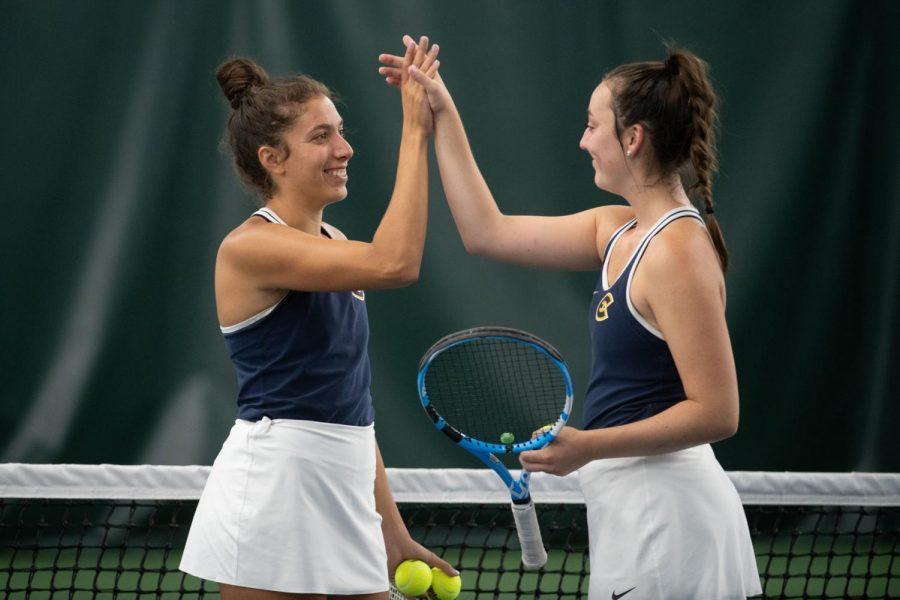 Tennis team finds success in final tournament