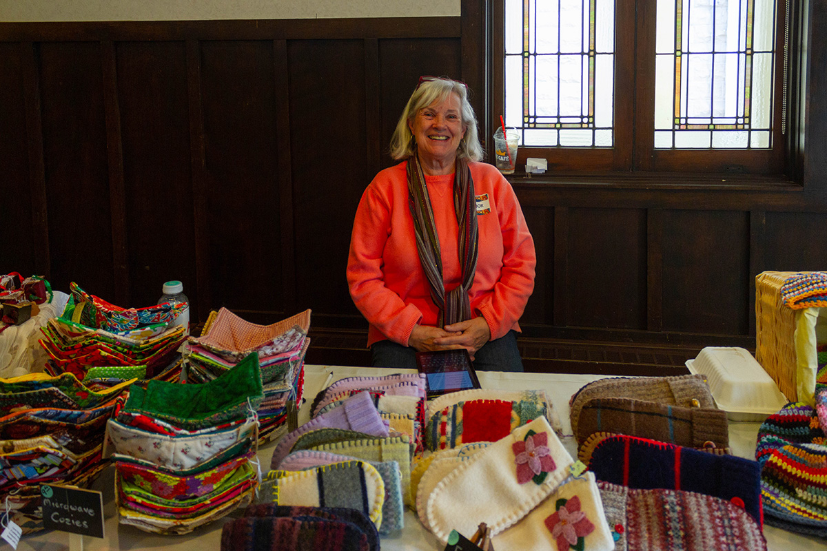 The fourth annual Eau Claire Global Market was held last Saturday at the First Congregational United Church of Christ, where 28 vendors sold products originating from countries throughout the world.