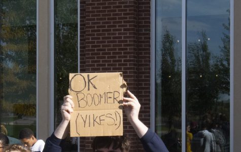 'OK, boomer' surges through the younger generations
