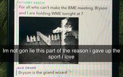 Racist Snapchat conversation emerges between members of Blugold football team