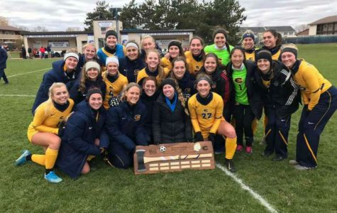 Blugolds keep the axe for the third year in a row in division rivalry.