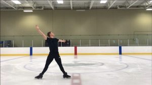 Local figure skater on path for U.S. competition