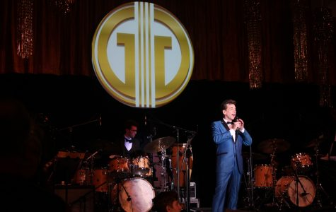 Michael Andrew performing at the 6th annual Gatsby's Gala held on Nov. 8.