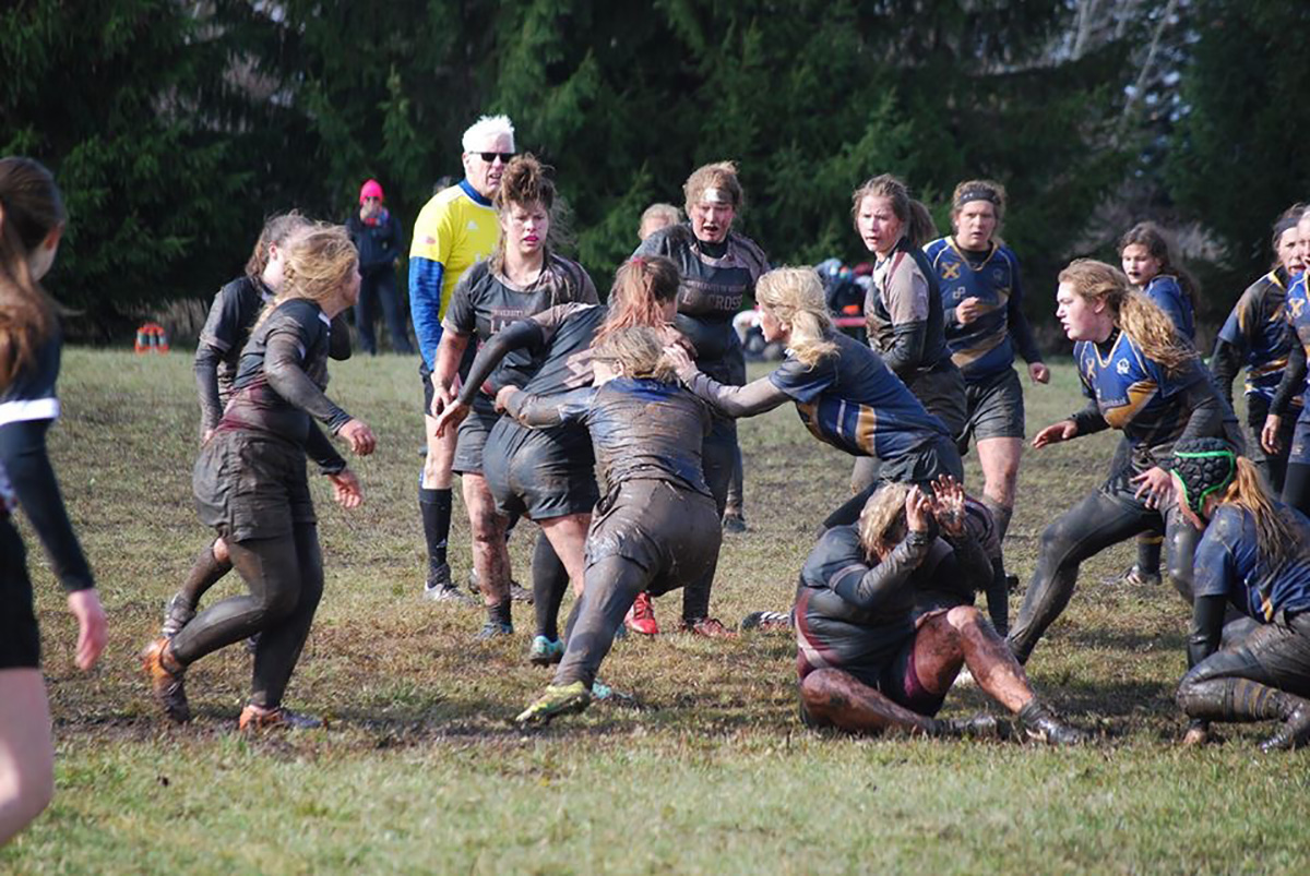The women's rugby club will be hosting the first round of the USA Rugby Women's DII Fall National Championship on Saturday versus the Minnesota State University, Mankato.