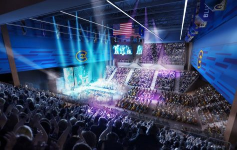 City bounces off ideas for a new convention center