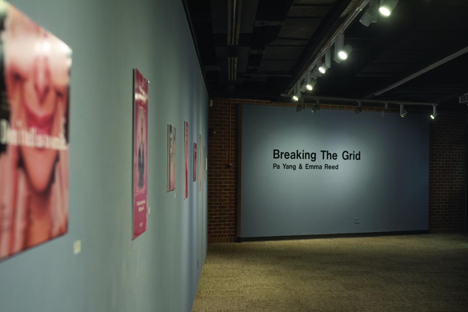 """The Ruth Foster Gallery will be exhibiting """"Breaking the Grid"""" from Nov. 25 to Dec. 15. This exhibit features two bachelor of fine arts fourth-year students, Emma Reed and Pa Yang,  and their capstone projects."""