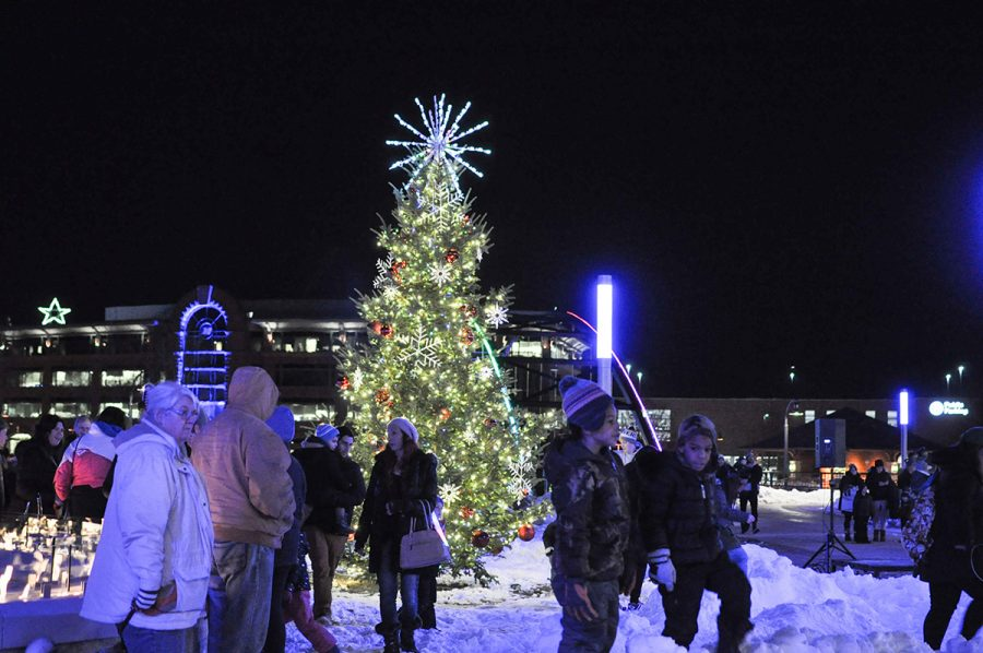 Let It Glow! celebrates the beginning of wintertime in Eau Claire