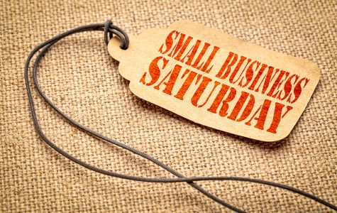 Small Business Saturday is only recognized once a year and takes place in between Black Friday and Cyber Monday.  burlap canvas