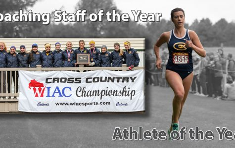 Athlete and Coaching Staff of the Year Award for cross country team