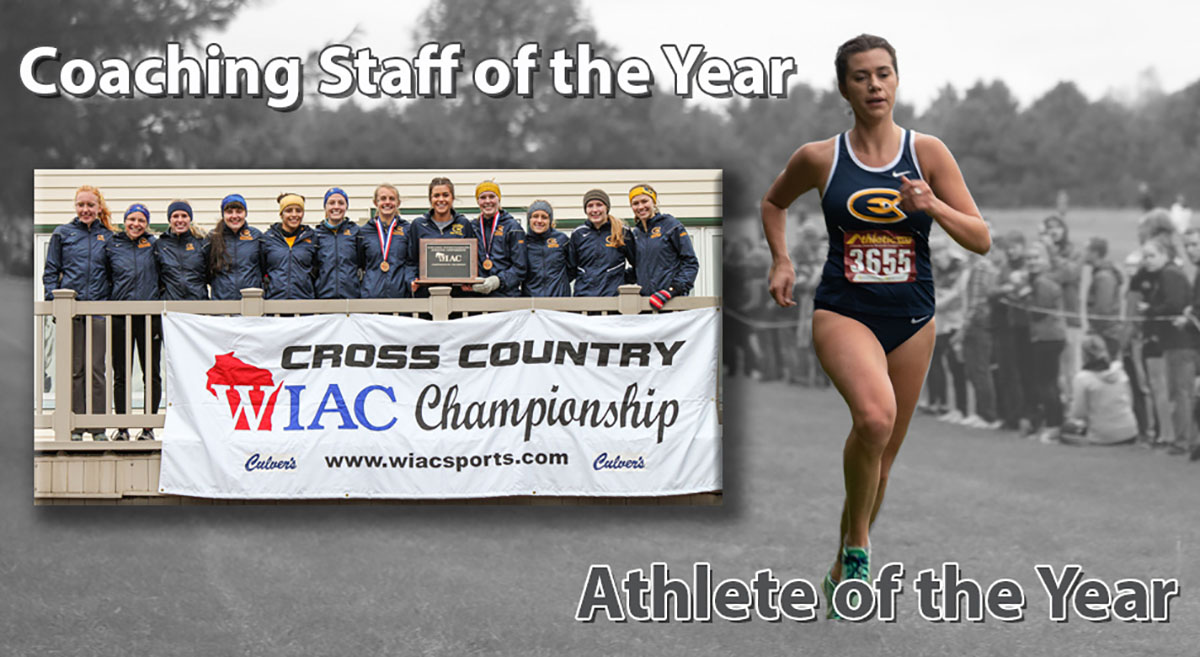 The UW-Eau Claire women's cross country team were WIAC champions with Lexie Tremble as Athlete of the Year.