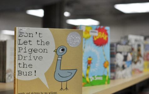 "It is common for children's books, such as ""Don't Let the Pigeon Drive the Bus, to be checked out from the McIntyre Library."