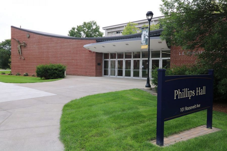 Phillips+Hall%2C+which+was+built+in+the+1960s%2C+does+not+have+a+sprinkler+system.