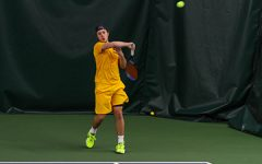 UW-Eau Claire men's tennis defeats the Cornell Rams