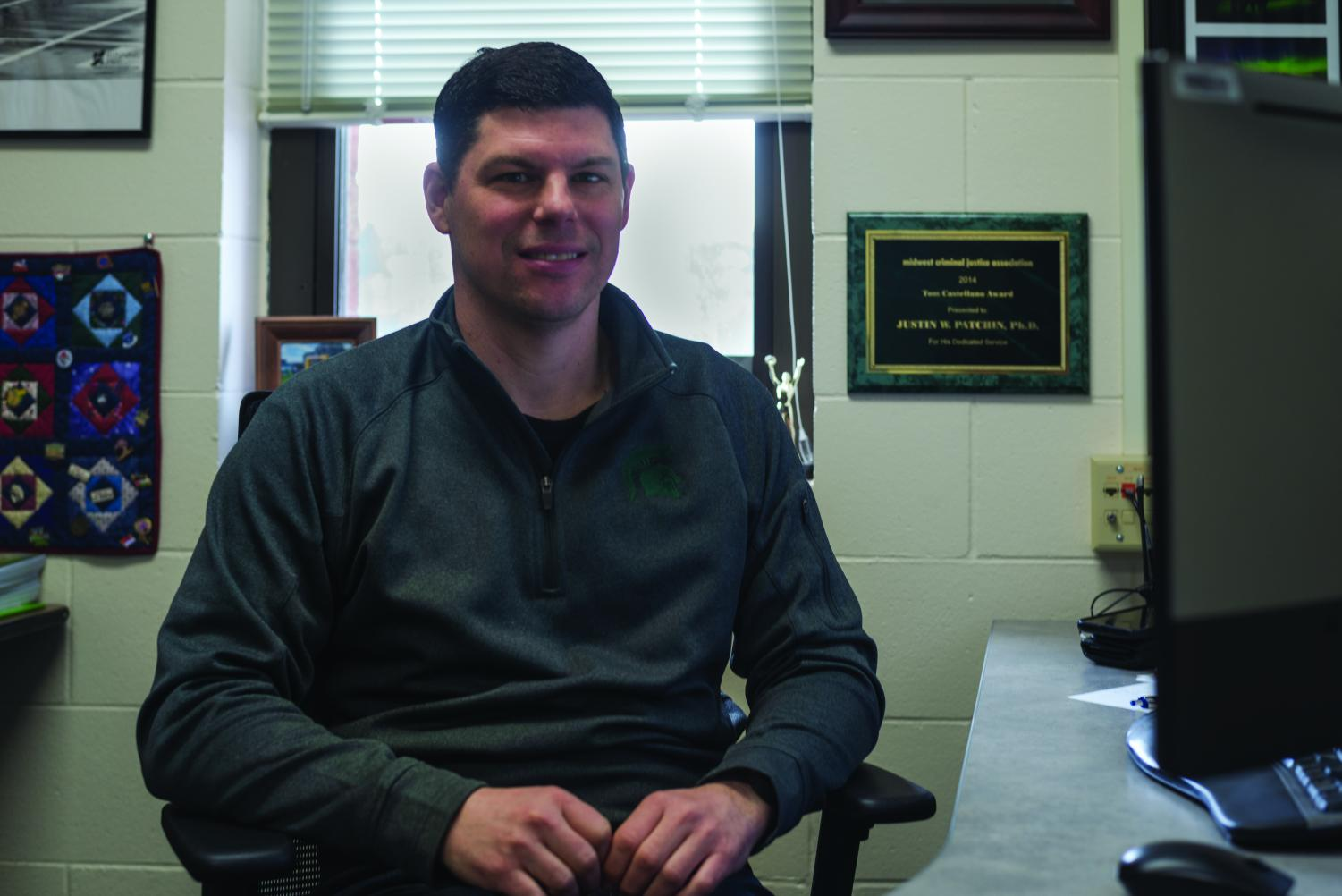 Justin Patchin, an assistant professor of criminal justice at UW-Eau Claire, is the co-director of the       Cyberbullying Research Center and has presented at conferences all across the world.