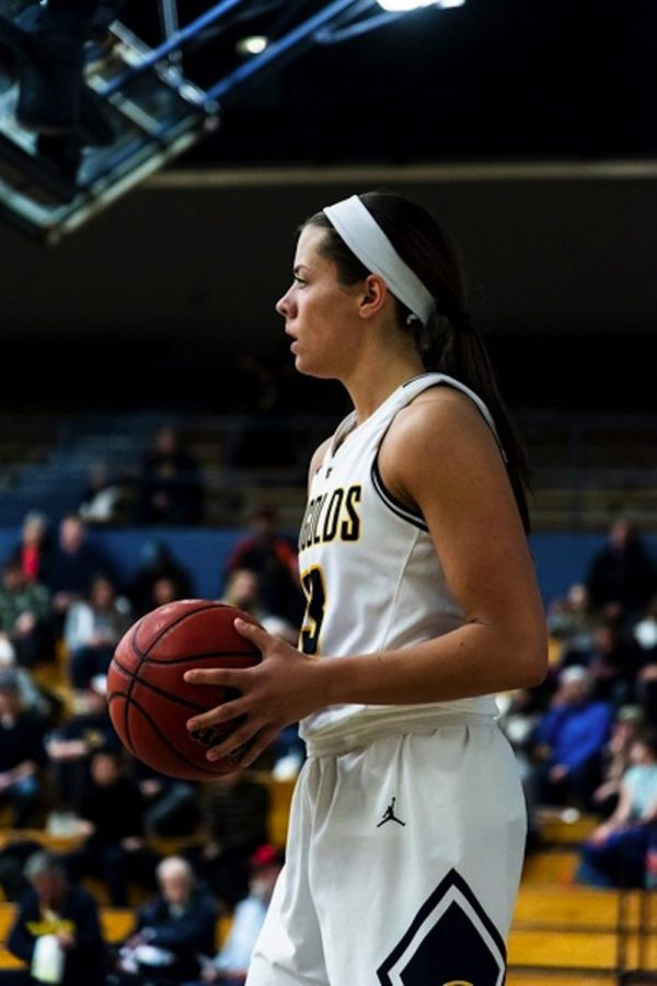 Hallee Hoeppner's growth within the basketball program has been evident and that growth has been noticeable in other areas of her life, Englund said.