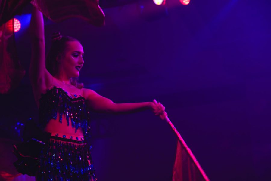 """""""Fire Ball is all about living in the moment, experiencing unique performances, and coming together as a community. The culture is electric and something everyone should experience once in your life,"""" said Abby Knoll, a third year graphic communication student."""