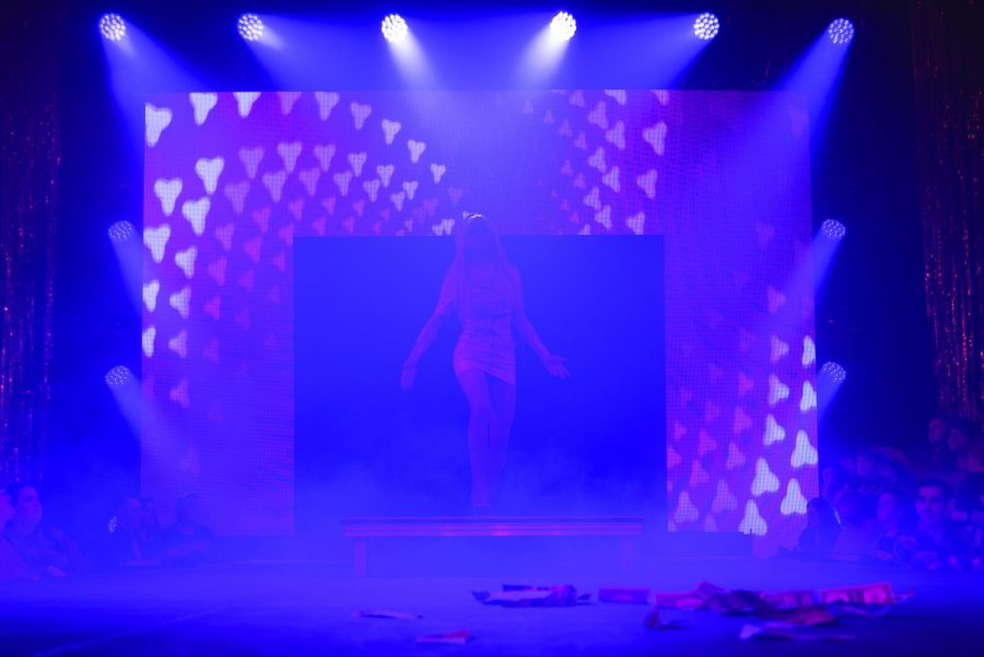 On Friday Feb, 28, Amber Hudson performed during the annual drag show titled Fire Ball at UW-Eau Claire. All of the proceeds from ticket sales fund the Gender & Sexuality Resource Center on campus. This year Fire Ball raised $3,200, which surpassed previous years donations.