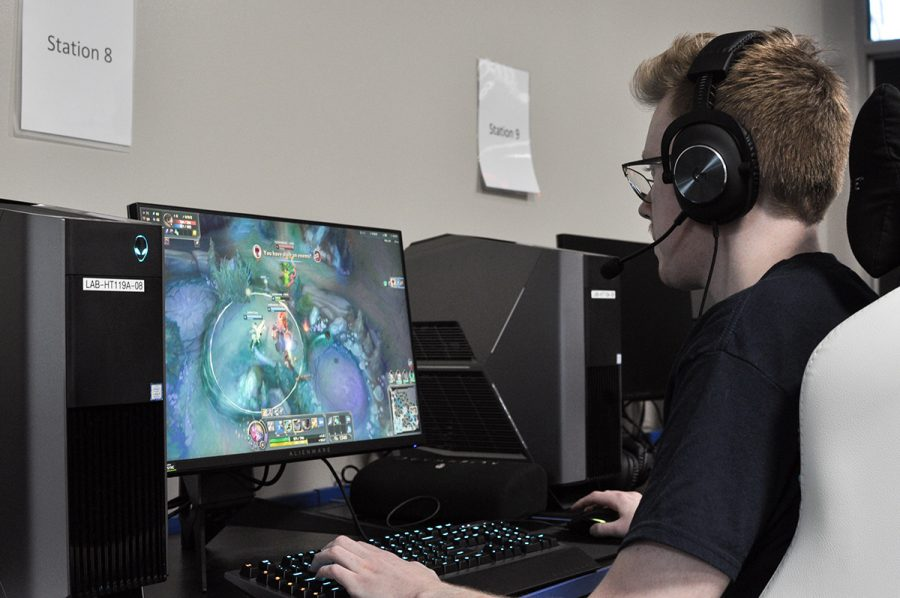 The eSports program offers students a chance to experience competitive and recreational gaming.