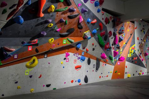 In addition to the EAC trips, the climbing walls are still open for student use.