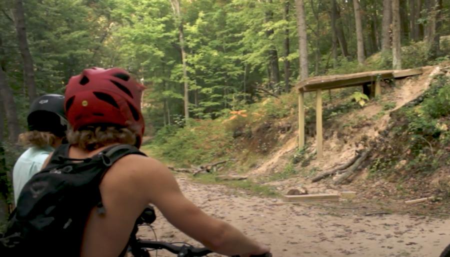Pinehurst Park Mounting Biking