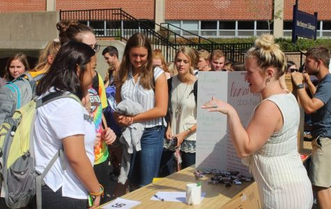 Traditionally, Blu's Organizations Bash features roughly 95 booths showcasing different clubs in the Campus Mall.