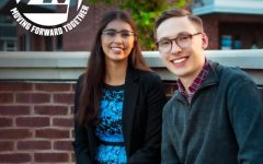 Anna Ziebell (left) has been elected UW-Eau Claire's 2020-2021 student body president and Joe Murphy (right) has been elected vice president.