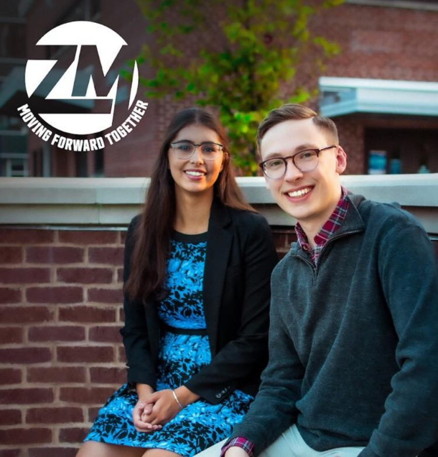 Anna+Ziebell+%28left%29+has+been+elected+UW-Eau+Claire%E2%80%99s+2020-2021+student+body+president+and+Joe+Murphy+%28right%29+has+been+elected+vice+president.%0A