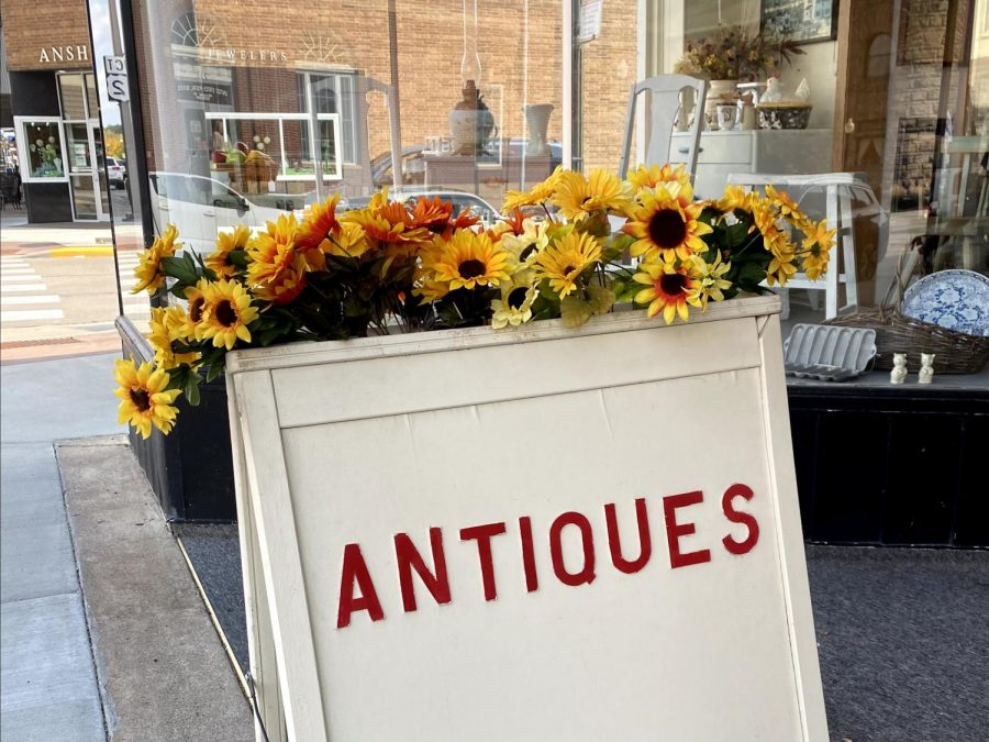 From the outdoor signage to the rare finds inside, there is something for everyone at Town & Country.