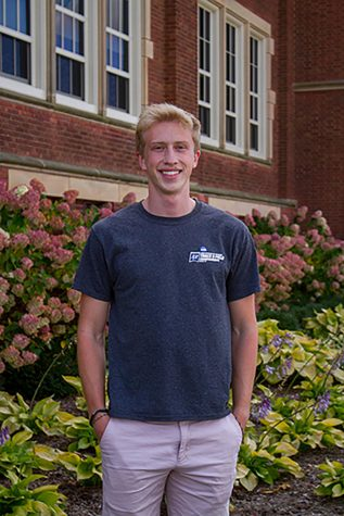 Arik Skifstad, an Actuarial Science, Finance and Information System student, sponsored by the National Residence Hall Honorary.