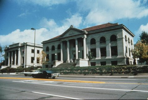 City Hall in Eau Claire is where the city manager's office is located. Photo credit to Wisconsin Historical Society.