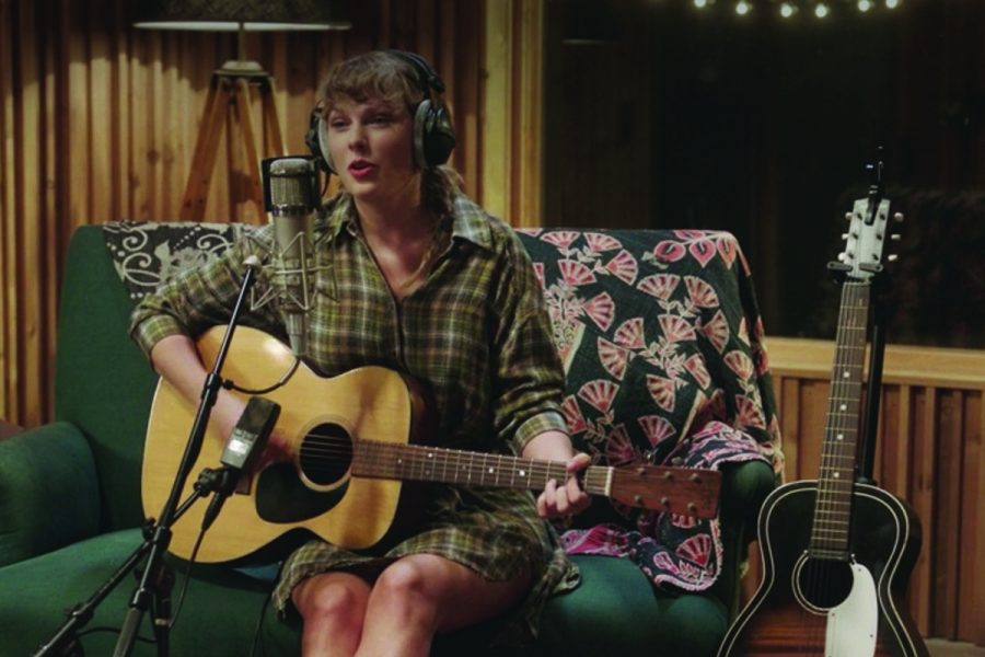 Taylor Swift is recording new music, kind of