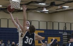 Cam Kuepers, fourth-year guard, led the Blugolds in scoring on Friday with 23 points.