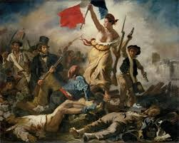 Eugene Delacroix, the artist who painted Liberty Leading the People, is one historical artist known to use mummy brown in his pieces.