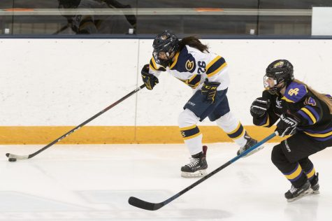 The UW-Eau Claire women's hockey team opened their season with two games against UW-Stevens Point.