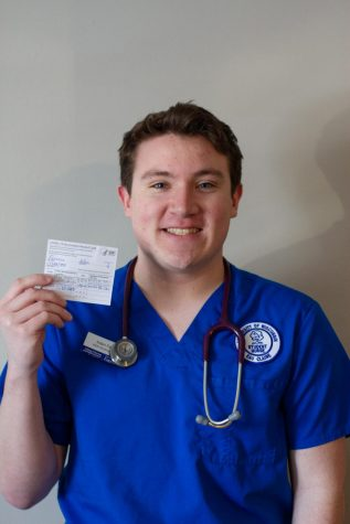 Alden Ferreira, a fourth-year nursing student, said he received two Pfizer vaccine doses over winterim.