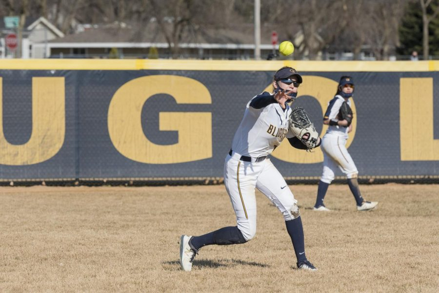 UW-Eau Claire travelled to Decorah, Iowa to play a doubleheader against Luther College.