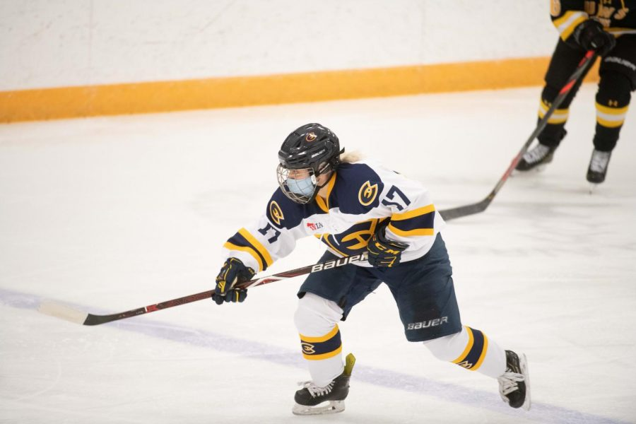 Blugolds win their fifth straight.