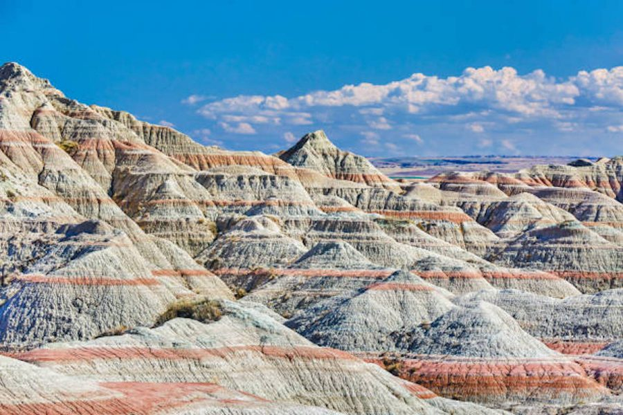 "Badlands National Park, featured in ""Nomadland"""